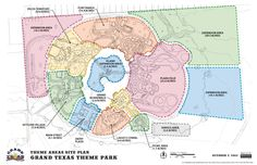 Grand Texas Sports and Entertainment District to resume construction #themeparks #rollercoaster #waterpark