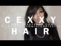 ALIEXPRESS CEXXY HAIR INSTALL UPDATE PERUVIAN 20,18,16+ 12IN FRONTAL