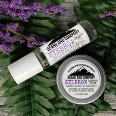 Get thicker brow growth with Beard and Company's Eyebrow Growth Kit with Growth Balm and Growth Oil. Made with premium organic ingredients in Colorado. Full Eyebrows, How To Grow Eyebrows, Natural Eyebrows, Best Eyebrow Makeup, Best Eyebrow Products, Eyebrow Tips, Eye Makeup, Eyebrow Growth Oil, Thick Brows