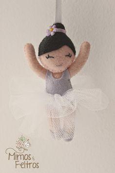 Móbile de Bailarinas da Mariana