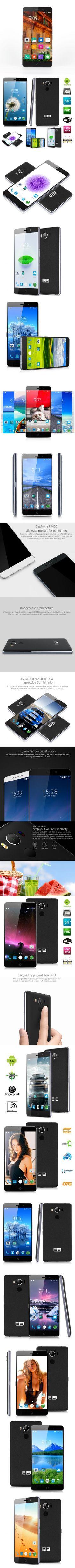 Elephone P9000 4G Android 6.0 Fingerprint Phone EU PLUG-$276.91
