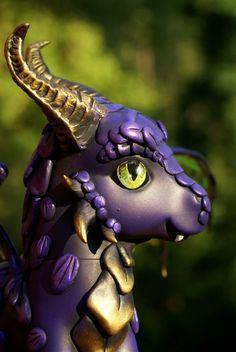 Purple Dragon by BarbedDragon