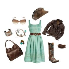 18 Ideas Western Boats Outfit Summer Country Girls Purses For 2019 Country Girl Dresses, Country Girl Style, Country Fashion, Country Outfits, My Style, Country Casual, Country Chic, Western Style, Cowgirl Style