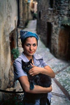 Retrato: Muchacha en Italia, por Steve McCurry