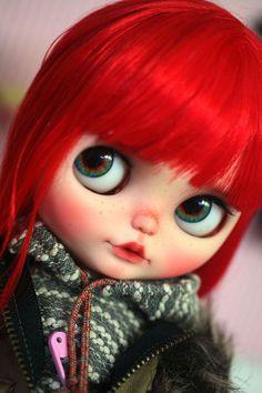 Eyechips para muñecas Blythe por Donna No.R-21 por Moctopus en Etsy