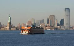 The Staten Island Ferry serves commuters traveling between Staten Island and Lower Manhattan, but visitors looking to see New York City's working waterfront (& the Statue of Liberty) will enjoy the free ride across the New York Harbor.  Among the sights to take in from either side of the vessel, are Governors Island, the Statue of Liberty, the Brooklyn Bridge, lower Manhattan and Wall Street's skyscrapers, Ellis Island, and the Verrazano Narrows Bridge connecting Staten Island to Brooklyn.