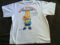#vintage #80s XL #TheSimpsons #BARTSIMPSON #Shirt by VintageShat on Etsy