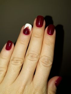 Burgundy nails- Amazing design #fromPinterest