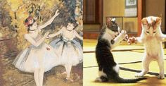 "Edgar Degas, ""Two Dancers On Stage"" (1874) 