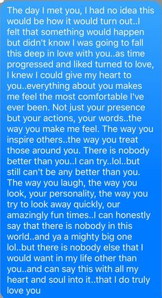 Quotes Discover love quotes for him boyfriend Cute Love Quotes Romantic Love Quotes Love Quotes For Him Message For Boyfriend Love Boyfriend Love Letters To Your Boyfriend Cute Texts For Boyfriend Romantic Quotes For Boyfriend Boyfriend Quotes For Him Cute Love Quotes, Long Love Quotes, Love Quotes For Her, Real Quotes, Sweet Quotes, Couple Quotes, Family Quotes, Relationship Paragraphs, Cute Relationship Texts