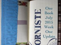 #onebookjuly2015 Week 1 Update   Carie Harling - Dispatches From The Frat House