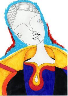 2015 Westminster Fashion illustration – Chloe Mcgeehan