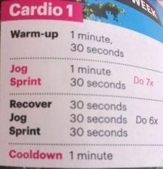 Cardio HIIT option