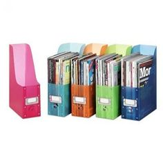 Magazine Holders: Trust me on this one...you need these to hold your papers for each day of the week. It will change your life.