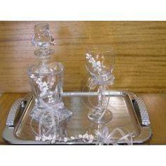 ΚΑΡΔΟΥΛΕΣ - Θέμα Βάπτισης   123-mpomponieres.gr Wine Decanter, Barware, Wine Carafe, Bar Accessories, Drinkware