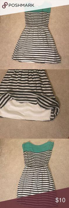 Selling this Striped dress on Poshmark! My username is: sborn1. #shopmycloset #poshmark #fashion #shopping #style #forsale #Charlotte Russe #Dresses & Skirts