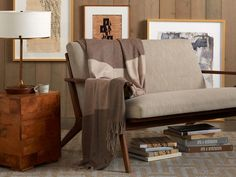 Striped Cashmere Throws – Parachute - $$$ but colors are perfect - find look for less