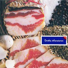 Aus den zartesten und geschmacksintensivsten Teilen des Schweinebauches! Hier klicken: http://blogde.rohinie.com/2013/01/wurst/ #Italien #Toskana #Montefioralle  #Salami #Fenchel