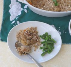 This hearty British sausage crumble is comfort food that's much easier than making pie from scratch. Easily customisable, low budget and easy to make ahead.