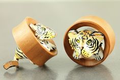 Leaping Tiger 3d Tunnels.. So cute