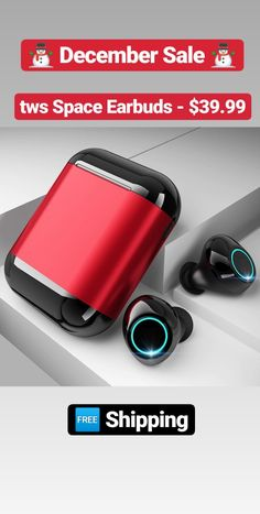 Wireless Earbuds with Noise Cancellation & Fingerprint