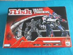 Risk - Transformers Cybertron Battle Edition Board Game - Parker Brothers