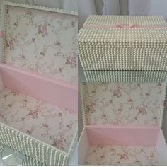 Muito luxo nesta caixa em pérolas.  Um Mimo para o quarto da sua princesa!  #caixadecoradamdf #caixaperolas #caixatecido #caixarenda #caixadeperolas #presentemenina #presentepersonalizado babydecor #babydesing #babydecoroom #mimosbaby #babydecoration #babyluxo #babygirl #decorbabyroom #babydecoration #babydecor #decoracaoluxo #babydecoration #decoracaoluxomaternidade #decoracaobebe #decoracoapersonalizada #quartomenina #decoracaoluxomaternidade #decorluxo #decorluxo