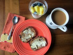 ♥ Publix Groceries Breakfast Bread ... YUM, addicted! ... multigrain, substantial, with great texture, full of dried fruits & nuts.
