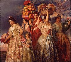 La Pintura de los Siglos XIX y XX www.cult.gva.es350 × 303Buscar por imagen José Pinazo Martínez. Floreal. Lienzo, 1915. Visitar página  Ver imagen