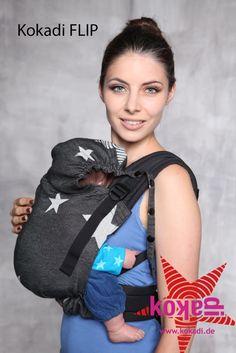 Kokadi Flip Baby Carrier DIORITE STARS