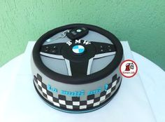 Discover recipes, home ideas, style inspiration and other ideas to try. Bmw Cake, Ferrari Cake, Fondant Flower Cake, Fondant Bow, Fondant Cakes, Elegant Birthday Cakes, Birthday Cakes For Men, Chocolate Fondant, Modeling Chocolate