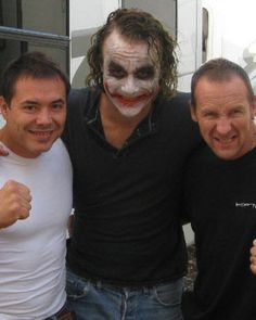 Heath Ledger's Joker - New Behind the Scenes Photos