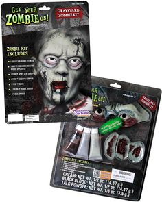 Scary Graveyard Zombie Costume Kit