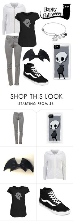 """""""So Cute It's Spooky"""" by x-sweetea-x ❤ liked on Polyvore featuring J Brand, cutekawaii, Wildfox, Vans and Love This Life"""