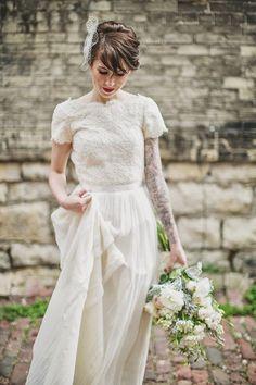 Brudekjoler med vakre ermer – Wedding dresses with sleeves | Norwegian Wedding Magazine