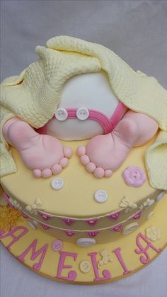 #babyshowercake