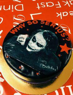Why so serius? #Joker #Cake