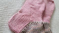 #knitting #homemade #socks Hand knitted socks using Norwegian knitting technique (5 knit needles)