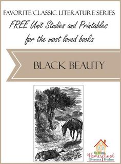 FREE Unit Studies and Printables for the Most Loved Books: Black Beauty - Homeschool Giveaways American History Lessons, How To Start Homeschooling, Classical Education, Teaching History, History Education, Book Study, Classic Literature, Homeschool Curriculum, Science