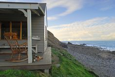The Beach Hut in North Cornwall, Luxury Seaside Beach Hut Cornwall