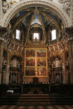 The Dome of the Great Chapel and The Renaissance Frescos, Valencia, Spain