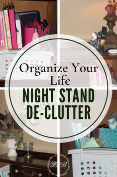 My Night Stand Organization Ideas is just one way to organize your life. Do you open that nightstand and want to close it real fast because it's a hot mess? The solution is waiting for you here! Container Organization, Home Organization Hacks, Organizing Life, Bedroom Organization, Nightstand Plans, Large Lamps, Organized Mom, Night Table, Organize Your Life