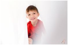 San Diego Portrait Photography | Family | Kids | White Bed Sheet