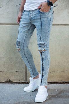 Blugi Slim COD B4709 Cod, Skinny Jeans, Slim, Pants, Style, Fashion, Trouser Pants, Swag, Moda