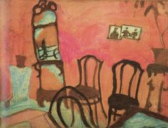 "Marc Chagall - ""Small Drawing Room"", 1908"