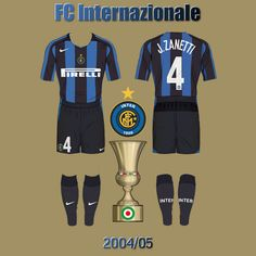 FC Internazionale 2004/05 Sports, Tops, Fashion, Moda, La Mode, Sport, Shell Tops, Fasion, Fashion Models