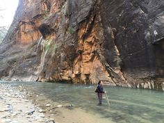 The Narrow, Zion National Park. Watch the entire episode here! #monicagoes