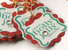 Cute gift tags.