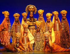 Watched my favourite Disney broadway show The Lion King.