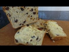 A delicious milk bread, filled with sultanas and chopped mixed peel to make a really wonderful loaf. Bread Cake, Bread Board, Yeast Bread, Biscuits, Muffin, Rolls, Pie, Cakes, Baking